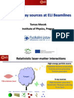 T. Mocek-Coherent X-Ray Sources at ELI Beamlines