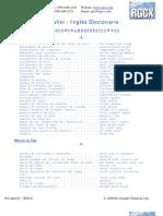 Vocabulario mecánica Eng-Esp