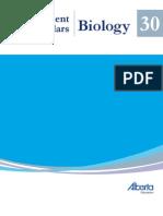 Biology 30 Exemplars 2008