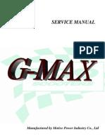 Gmax Service Manual