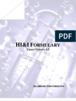Formulary HI&I Version 5.5