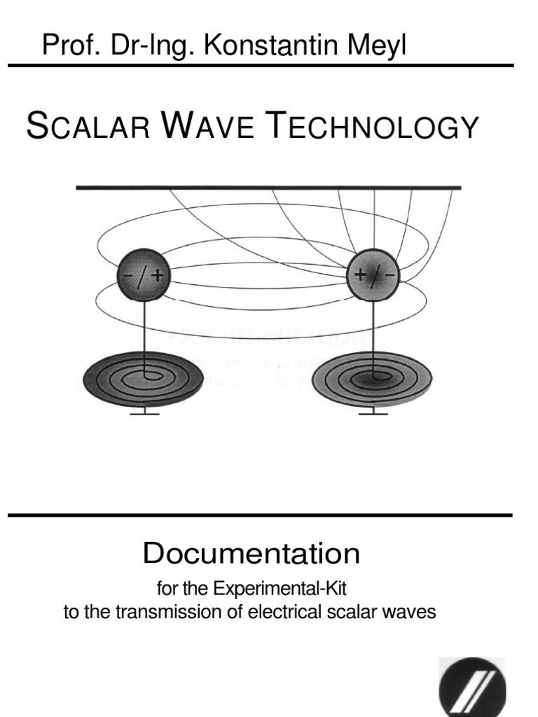 Konstantin Meyl-Scalar Wave Technology | Transmitter | Inductor
