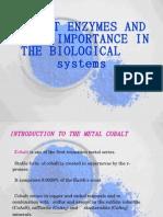 Cobalt Enzymes