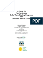 A Guide to Fee-For-Service Solar Water Heating Program-1