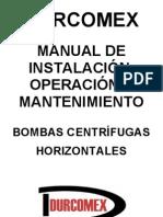 Manual Bomba Sentinel - Durcomex