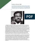 Discours de Lumumba