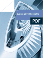 Budget 2006 Highlights by KPMG