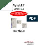 AlphaNET3.0UserManual