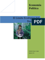 El límite ecológico del Desarrollo