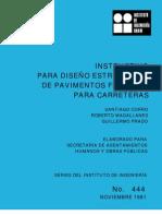 NORMA444 DISEÑO UNAM PAVIMENTOS FLEXIBLES