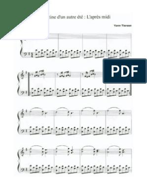 klaviernoten amelie