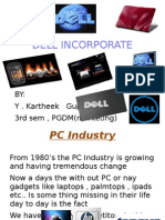 DELL Incorporate by Kartheekguptha Pgdm 3rd Sem