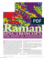 Raman Spectroscopy for Medical Diagnosis