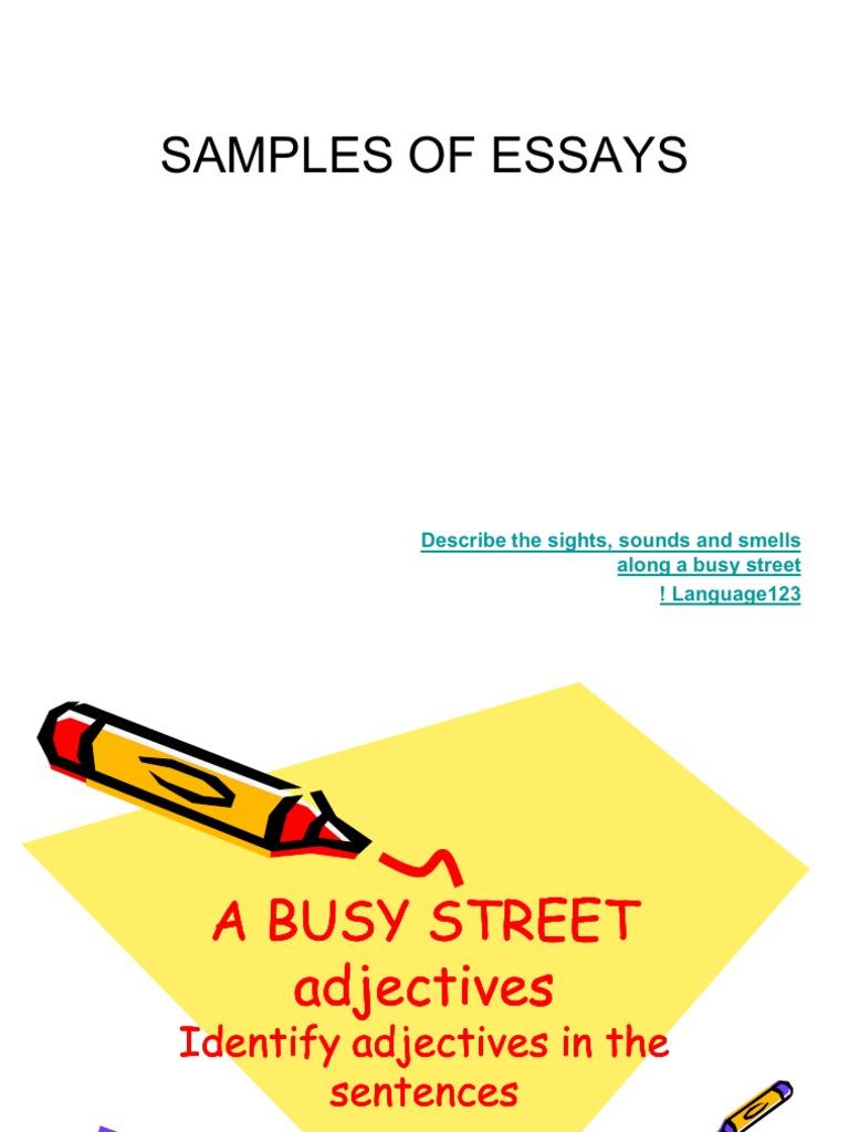 home essay in english rainy season