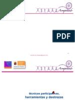 Tecnicas y Destrezas ProMotOres / TRANSFORMA CHIAPAS A.C. RICARDO HERNANDEZ ARELLANO