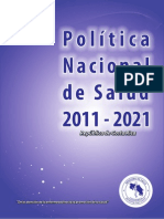 DPEEAS Politica Nacional Salud 2011-2021