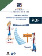 Cartilla Sistema Integrado de Gestion 2011
