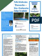 Gira volcán Tenorio - río Celeste