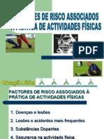 Factores de Risco dos à Prática de Actividade física