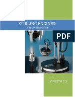 Stirling Engine - a Beginners Guide