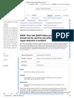 DHCP_ Port 546 (DHCP Client Port for IPv6)