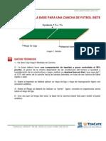 Construccion Base Cancha Futbol7