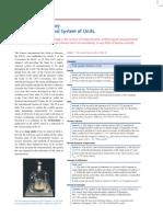 International system of units, SI; summary