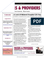 Payers & Providers National Edition August 2011