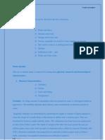 Characteristics of Water