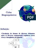 Ciclos Biogeoquímicos - Aula 3