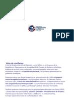 Voto de confianza 2001-2011