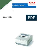 Oki B4400 User Manual