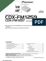 CDX-FM1257 - FM1259