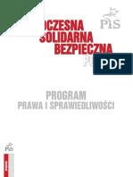Program Pis 2011 Projekt