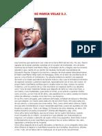 El Padre Jose Maria Velaz s
