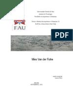 THAU v - Mies Van Der Rohe