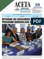 Decreto Bandera Azul Ecológica Costa Rica 2011