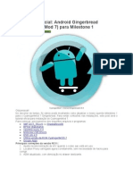 Android Gingerbread (CyanogenMod 7) Para Milestone 1