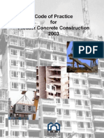 Code of Practice for Precast Concrete Construction