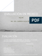 EvaluaciÓn en Mexico