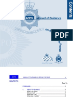 ACPO Manual of Guidance on Keeping the Peace