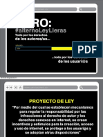 Presentación Proyecto #alternoleylleras