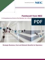 Femtocell Form NEC
