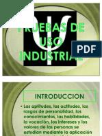 Pruebas de Uso Industrial