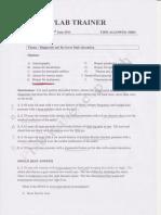 Plab1-Mock Test III