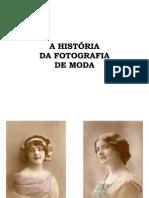A História da Fotografia de Moda
