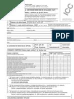 ICC Form