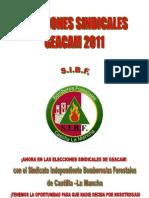 SIBF Elecciones Sindicales Geacam 2011