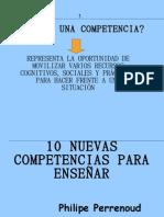 10 Nuevas Competencias de Perrenoud