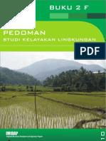 Pedoman Studi Kelayakan Lingkungan (BUKU 2F)